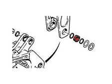 D136569 Backhoe Boom Pivot Bushing Fits Case 580K 580SK