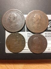 More details for canada  four colonial 2 x penny & 2 x halfpenny tokens