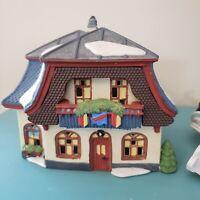 Dept 56 Alpine Village KONDITORE SCHOKOLADE 56146 Bakery & Chocolate Shop 1994