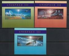 UNITED NATIONS 1999 SPACE STAMP SPACE UNISPACE III SS MNH -  SP210