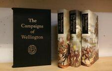 The Campaigns Of Wellington: 3 Volume Box Set: Folio Society in Slipcase