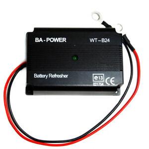 12V & 24V Battery Tender, Refresher, Desulfator.  Renew your old battery!