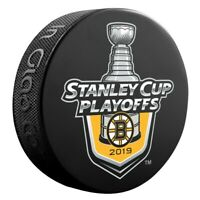 Boston Bruins 2019 Stanley Cup Playoffs Lockout Hockey Puck
