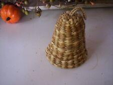 Handmade Basket/Vintage bell Traditional basket/Country basket/Holiday basket