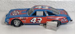 Franklin Mint Richard Petty Race Car 1992 STP Nascar #43 Diecast 1/24 Clean