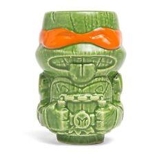 NEW TMNT Mini Geeki Tiki Ceramic Mug Michelangelo Lootcrate Collectible