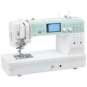 Elna Elnita EF72 Computerized High Speed Sewing and Quilting Machine + Bonus