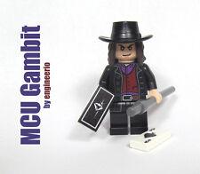 LEGO Custom Gambit MCU Marvel Super heroes Remy LeBeau X-Men Origins Wolverine