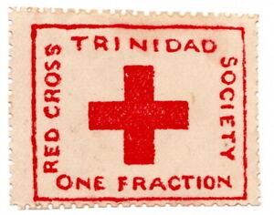 (I.B) Trinidad Postal : Red Cross Society ½d