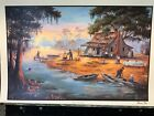 """""""This is the Day""""- Cajun/Lousianna festival art print by, Dot Chauvin"""