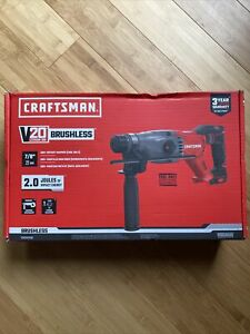 """Craftsman 20V Lith-Ion 7/8"""" SDS+ Rotary Hammer TOOL-ONLY CMCH233B NEW SEALED"""
