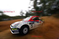 Colin McRae. FORD FOCUS RS WRC 02 RALLY Australiano fotografia 2002 2