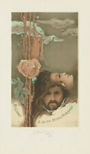Ex libris Lithograph Erotic Exlibris by KRATKY BOHUMIL (1913-2005) Czech