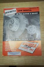 Wichita Clutch Co Brochure ~ Asbestos Catalog ~ Punch Presses Machinery