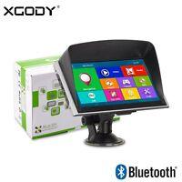 "XGODY 826 7"" AUTO Navegador GPS Bluetooth Transmisor FM 8GB AV-IN Coche Europa"
