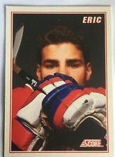 Eric Lindros Rookie Insert #B4 1990-91 Score B - Philadelphia Flyers