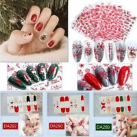 New Christmas Nail Polish Strips Color Stickers DIY Manicure Decoration Tips