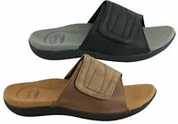 NEW SCHOLL ORTHAHEEL CAYENNE MENS COMFORT ORTHOTIC SLIDES WITH SUPPORT