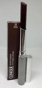 Clinique Almost Lipstick # 06 Black Honey NIB  Full Size .06oz New Free Shipping