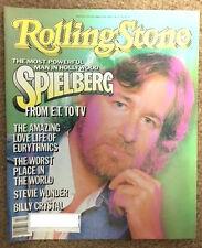 Rolling Stone October 24, 1985 Steven Spielberg, Eurythmics, MTV Music Awards