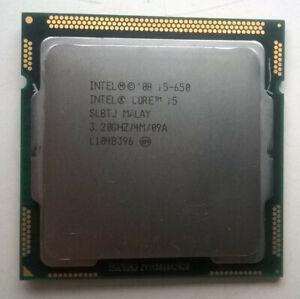 CPU Intel i5-650 LGA1156 100% working shipping from EU