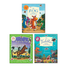 Julia Donaldson & Axel Scheffler Sticker Activity Set of 4 Books (RRP £19.96)