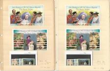 Belize, Postage Stamp, #757-762, 771-776 Mint Nh Sheets, 1986 Queen Elizabeth