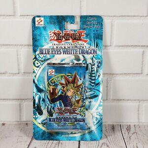 YuGiOh  Legend of Blue Eyes White Dragon Unlimited SEALED Blister Pack   LOB