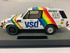 TOP MARQUES RANGE ROVER PARIS DAKAR RALLY WINNER 1981 VSD LIMITED EDITION 1:18