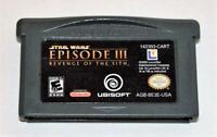 STAR WARS: EPISODE III: REVENGE OF THE SITH NINTENDO GAMEBOY ADVANCE SP GBA