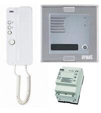 URMET 1150/301 Kit monofamiliare pulsantiera SINTHESI citofono MIRO