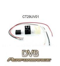 Connects2 CT29UV01 Hard Wire DIY Car Audio Aux Input Adaptor Fakra Quadlock
