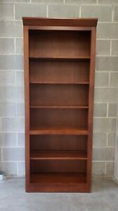 Ethan Allen American Impressions Bookcase, #24-9404 in #224 Autumn Cherry Finish