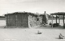 AZ * Papago Indian Home RPPC 1947  L.L. Cook Co. Pub.  #B-202