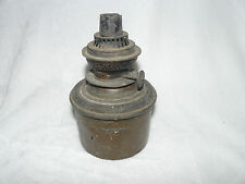 Lampe pétrole en laiton à restaurer (ref 623)