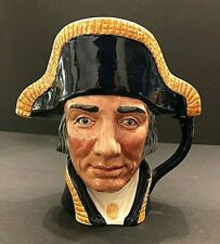 Royal Doulton 'Lord Nelson' D6336 1952 Large Toby Character Jug - Rare