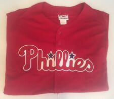 Philadelphia Phillies Majestic Jersey Size XXL Red Authentic Collection