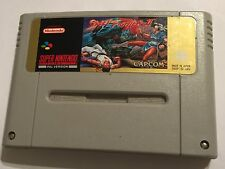 STREET FIGHTER II 2 UK EU PAL Super Nintendo Entertainment System SNES cartuccia