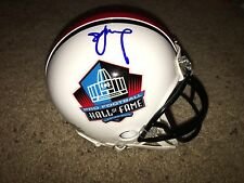Steve Young Signed Hall Of Fame Mini Helmet 49ers