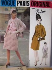 Vogue Paris Original Pattern 1432 Patou