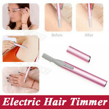 CORDLESS ELECTRIC LADY SHAVER Bikini Gambe Sopracciglia TRIMMER Shaper HAIR REMOVER
