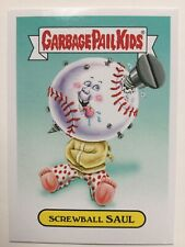 Garbage Pail Kids 2015 Topps Sticker Screwball Saul Baseball Mascot 9