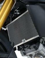 R&G BLACK RADIATOR GUARD for SUZUKI DL1000 V-STROM, 2014 to 2017