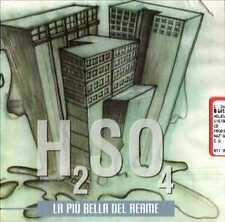 H2SO4 - LA PIU' BELLA DEL REAME  CD POP-ROCK ITALIANA