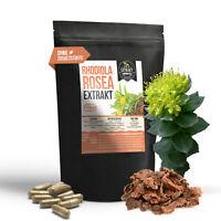 120 Rhodiola Rosea Extrakt | 500mg Kapseln | Rosenwurzkapseln Rosenwurz