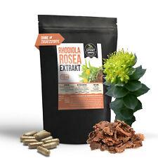 120 Rhodiola Rosea Extrakt | 400mg Kapseln mit | Rosenwurzkapseln Rosenwurz