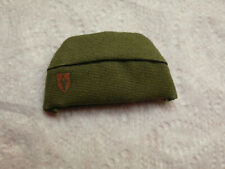 Military 1/6 Army: Green Garrison Hat (NEW)