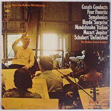 PABLO CASALS: Four Favorite Symphonies 2x LP Columbia USA NM-