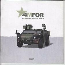 Märklin 4MFOR Katalog 2007 Metal Military Mission by MÄRKLIN NEU incl. UVP´s