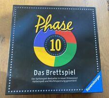 Phase 10 Brettspiel Ravensburger - wie neu